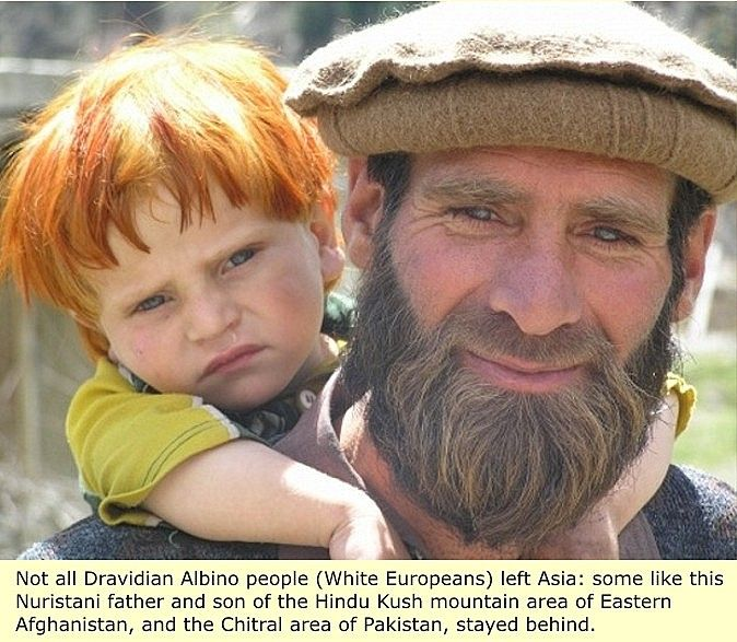 White Dravidians from Pakistan - downloaded from Man and His First Civilizations