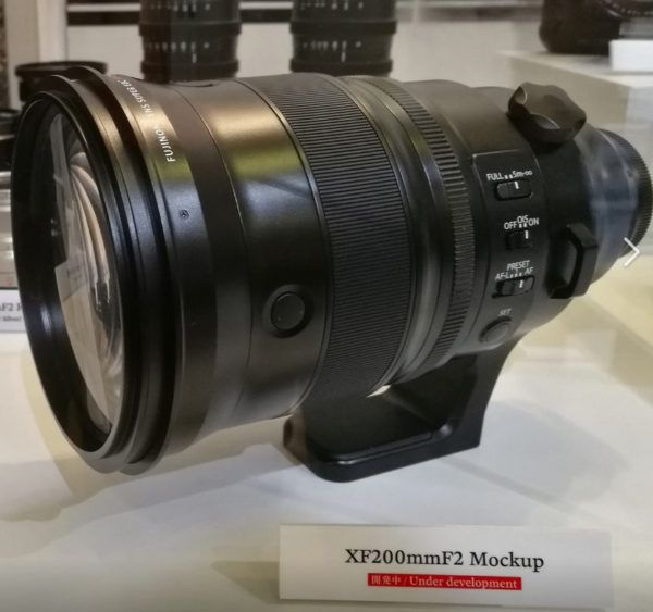 Fujifilm XF 8-16mm F2 8 R LM WR and XF 200mm F2 Lens to be