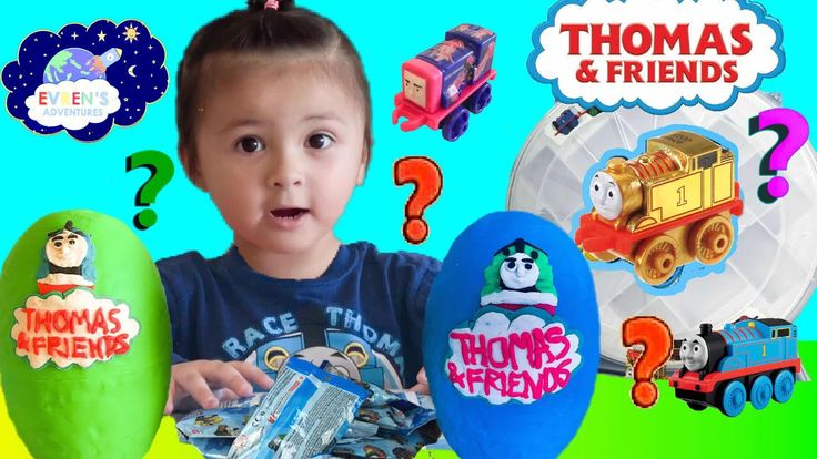 Thomas and Friends MINIS BLIND BAGS CODES 2017 OPEN SURPRISES Gold Thomas Toy Trains Collectible Guess the Engine with Evren Adventures Toys Review. Thanks for joining Evren to unbox the gold Thomas and Friends train minis case and two giant Play Doh surprise eggs Thomas and Friends. These giant Play Doh eggs filled with lots of surprise toys Thomas & Friends blind bags 2017 series 1 with listed blind bags code in this video and Thomas mashems.