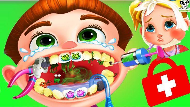 Fun Kids Care - Dentist Games For Kids Children Toddlers - Doctor X Craz...