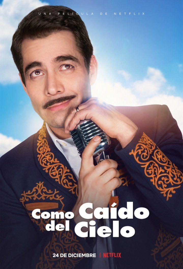 Póster Como Caído Del Cielo Película De Netflix Películas Completas Pedro Infante