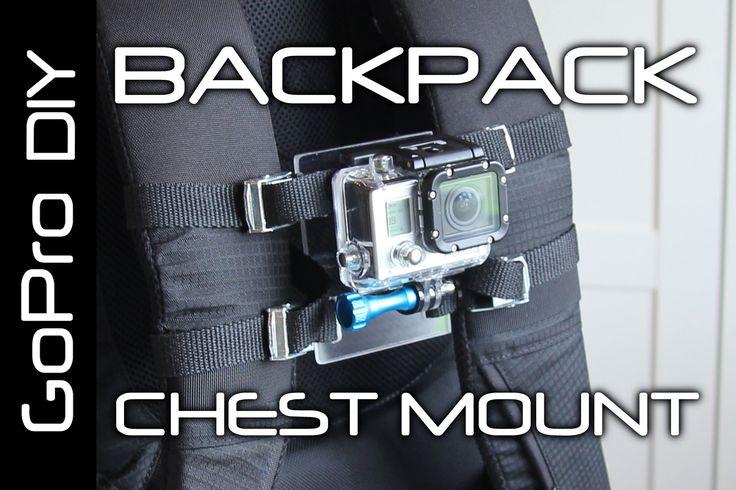 DIY GoPro CHEST MOUNT for BACKPACK - GoPro DIY #15