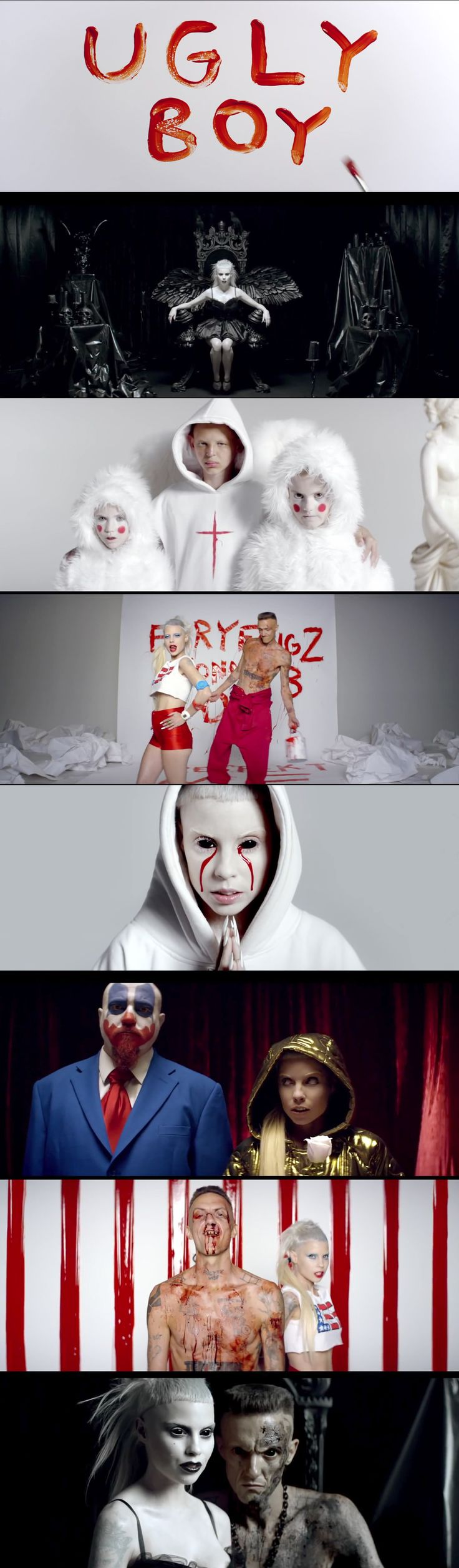 17 best images about l nd v r on pinterest coats for Die antwoord fish paste
