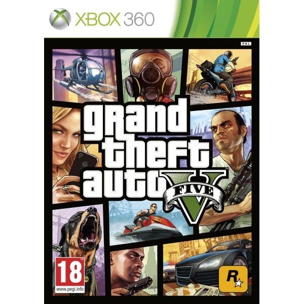 Grand Theft Auto V (Five 5) Game Xbox 360