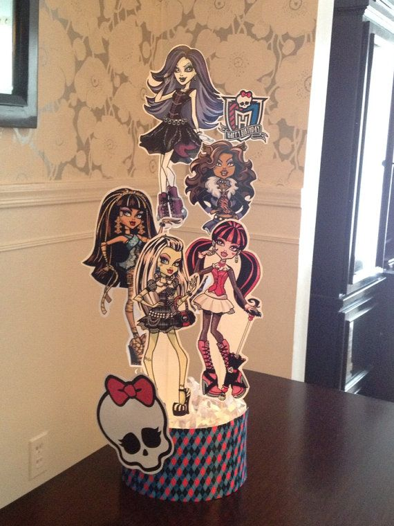 Hey, I found this really awesome Etsy listing at https://www.etsy.com/listing/153940716/monster-high-centerpiece-cake-topper