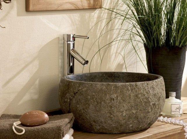 17 meilleures id es propos de vasque en pierre sur pinterest vasque pierr. Black Bedroom Furniture Sets. Home Design Ideas