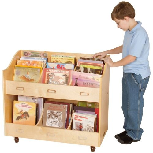 Guidecraft Mobile Book Organizer Reviews