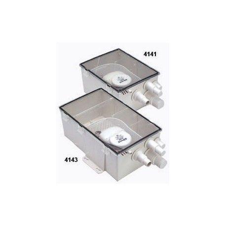 Système de puisard pour douche  Les systèmes de douche puisard de chez Attwood.  Modèle large (4143).