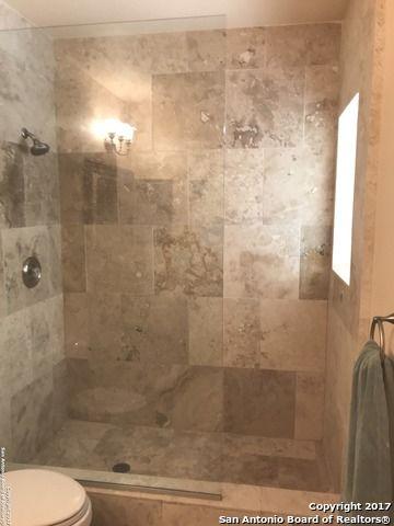 Limestone floating glass shower Shavano Park Texas For Sale Star ...