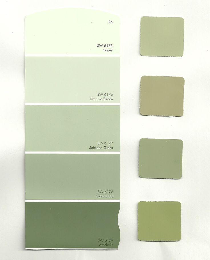 Bradys Zimmerfarbe Ideen Wande Farbe Sage Gelbgrune Braune