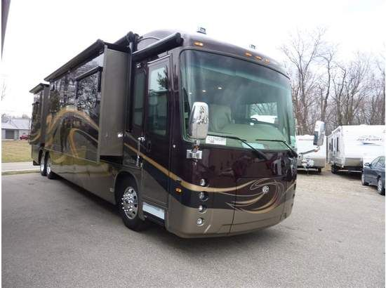 #Entegra Coach is the member of world's largest #recreational_vehicle manufacturer Jayco. Entegra Coach provides 2 year warranty, 3 year platinum level roadside assistance, residential amenities and much more on its vehicles. This used 2012 Entegra coach Aspire 42RBQ class A Motorhome looks beautiful from outside and inside. It's available for just $348097 by Colerain RV in Cincinnati, OH. Just check http://www.rvstock.net/used-rvs/2012/class-a-motorhomes/entegra-coach/aspire-42rbq/5711/