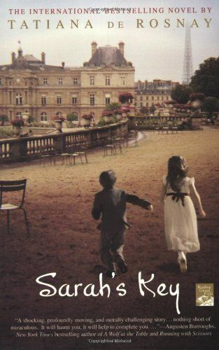 """Sarah's Key by Tatiana de Rosnay  I used GoogleMaps to locate the addresses listed in this book, and then switched to the StreetView and """"walked the streets""""."""