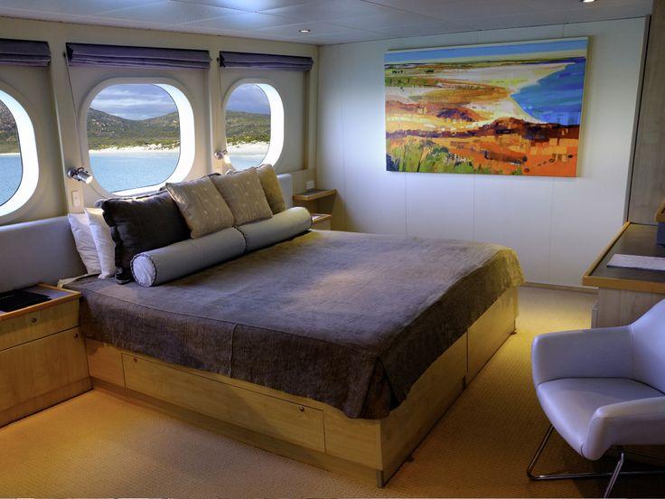 Your Explorer Class Stateroom cabin awaits! #northstarcruises #luxurytravel #adventurecruises #adventure #thekimberley #boats
