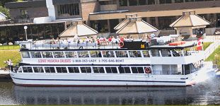 Lady Muskoka Cruises Bracebridge, Ontario, Canada The Heart of Muskoka