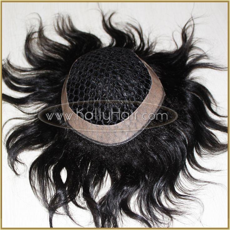 8inch #1 Straight Men's Toupee Best Wigs For Men Online