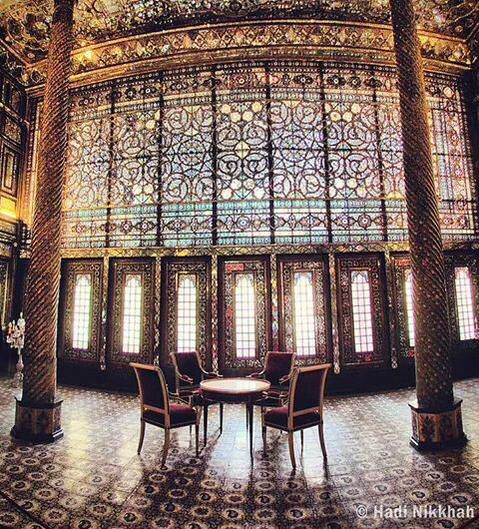Golestan palace  Photo : Hadi Nikkhah Iran