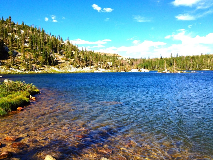 Mirror lake in Wyoming. Only 30 minutes or so from Laramie Wyoming home of the University of Wyoming Cowboys!