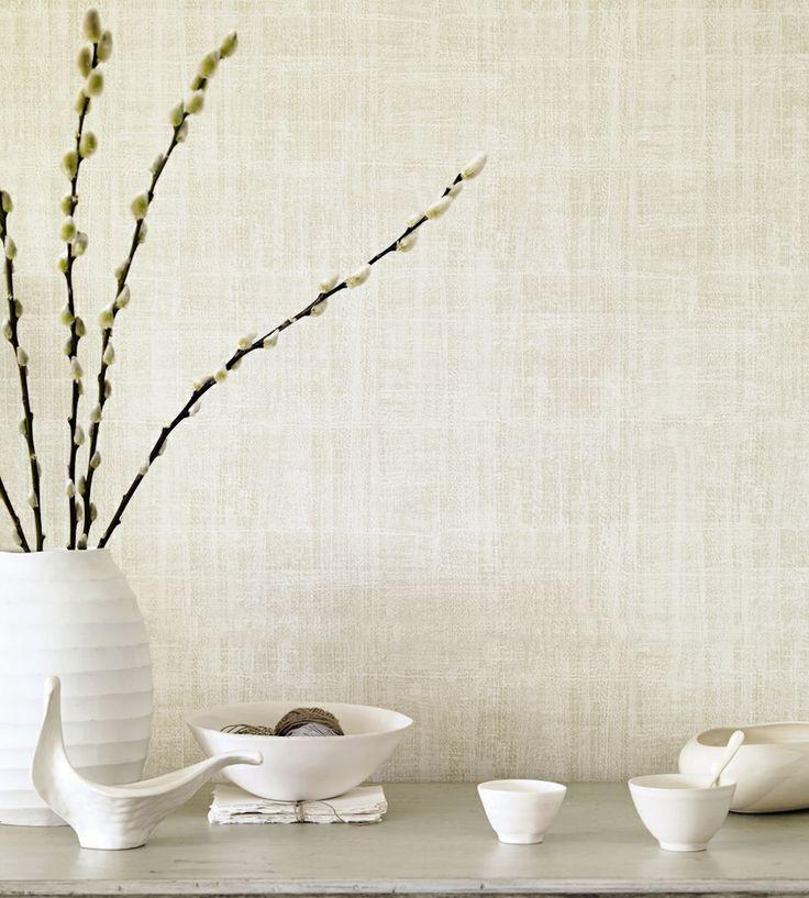 Naturals & Neutrals | Washi Wallpaper by Sanderson | Jane Clayton