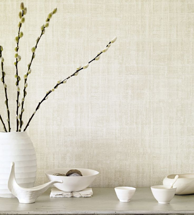 Naturals & Neutrals | Washi Wallpaper by Sanderson | Jane Clayton