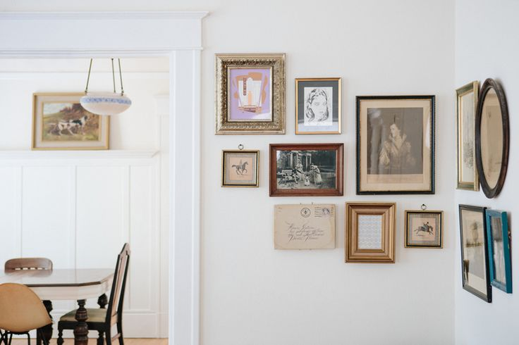 Best 25 eclectic gallery wall ideas on pinterest eclectic artful entryway eclectic design - Eclectic picture frame wall ...