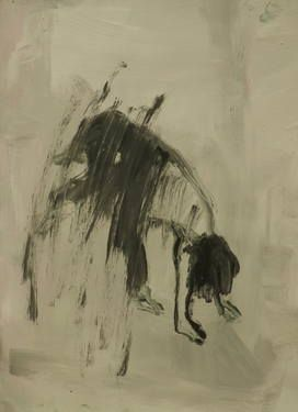 "Saatchi Art Artist Marta Zamarska; Drawing, ""Modern Dance XXVIII"" #art"
