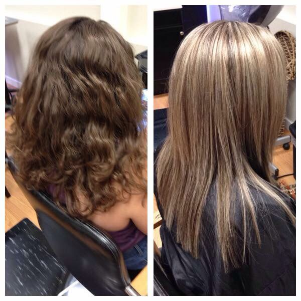 Full head of highlights. By Bethany
