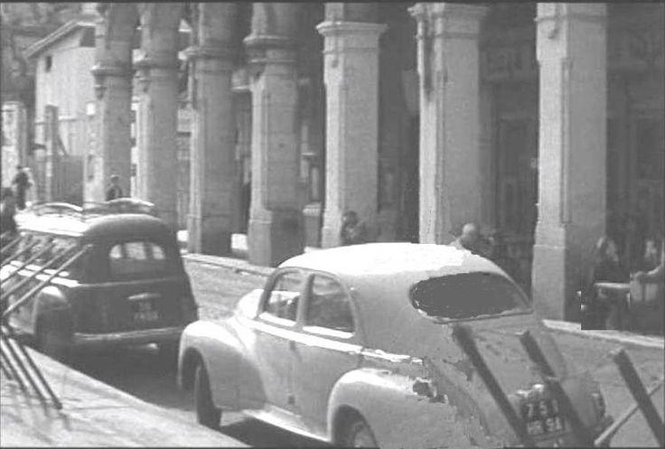 La rue Bab-el-oued, et le passage Cougot