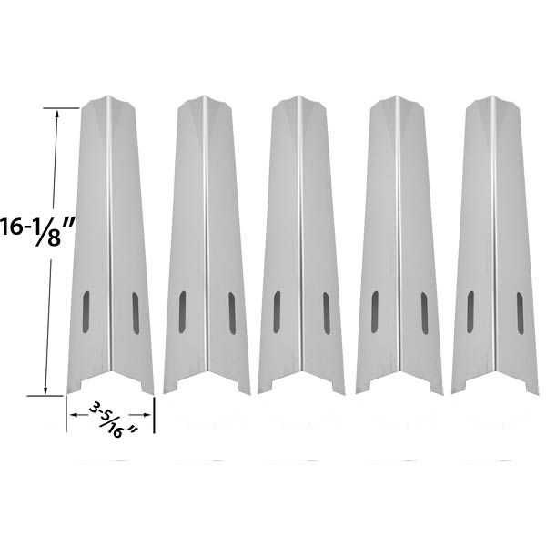 5 PACK STAINLESS STEEL HEAT PLATE REPLACEMENT FOR IGLOO BB10367A, LIFE@HOME GSC2318J, MASTER FORGE, NORTH AMERICAN OUTDOORS AND NEXGRILL GAS GRILL MODELS Fits Compatible Igloo Models : BB10367A, BB10514A Read More @http://www.grillpartszone.com/shopexd.asp?id=33573&sid=15821