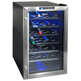 NewAir Appliances Thermoelectric Wine Cooler  @Overstock - This wine cooler from Newair appliances is the perfect home accessory for the wine collector. Keep up to 28 bottles of wine cool on six pull-out chrome racks.  http://www.overstock.com/Home-Garden/NewAir-Appliances-Thermoelectric-Wine-Cooler/7411549/product.html?CID=214117 $249.95
