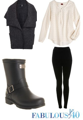 """Rock the Biker Chick look in a pair of moto inspired boots. Biker booties are just right for days when you feel a little """"rock and roll."""" #boots #booties #falltrends"""