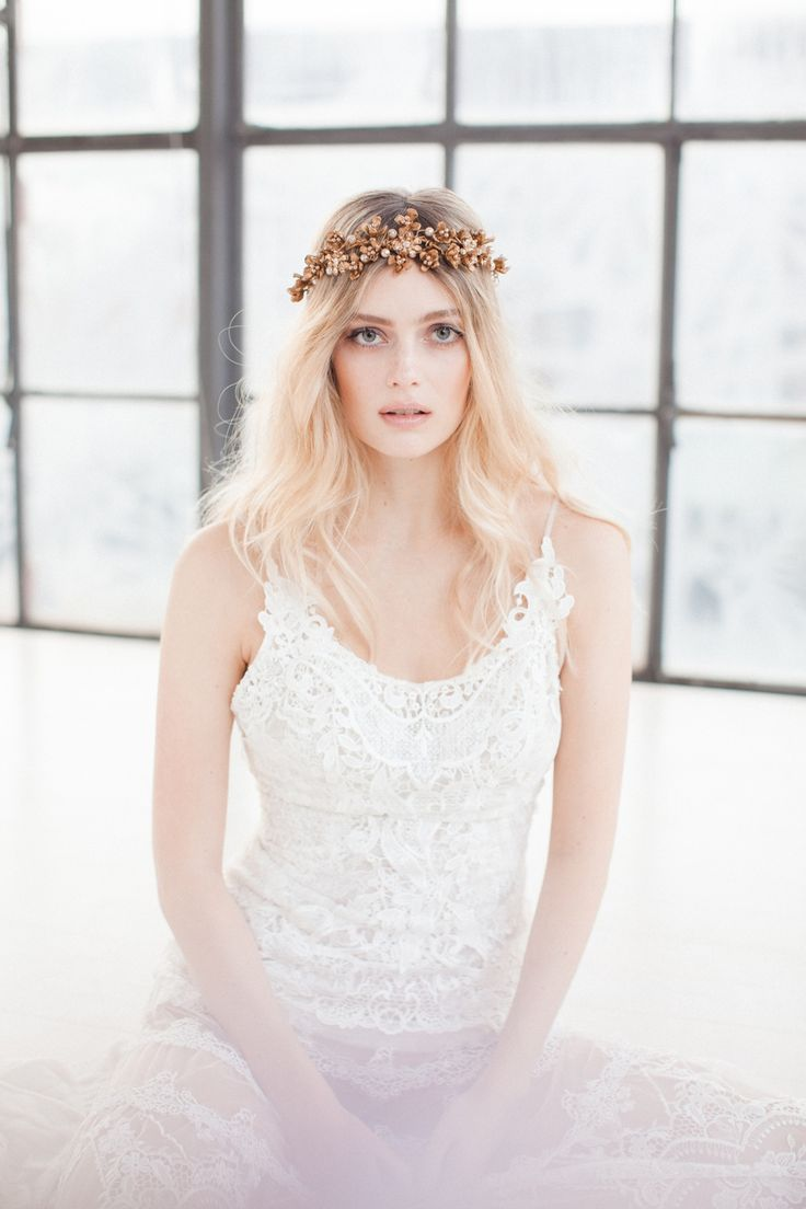 Swoon over jannie baltzer s wild nature bridal headpiece collection - Beautiful Intricate Bridal Headpieces From The Wild Nature Collection By Jannie Baltzer
