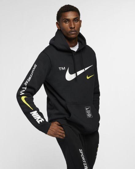 60e3859652e0 Nike Sportswear Club Pullover Hoodie. Nike.com Nike Pullover Hoodie, Black  Hoodie,