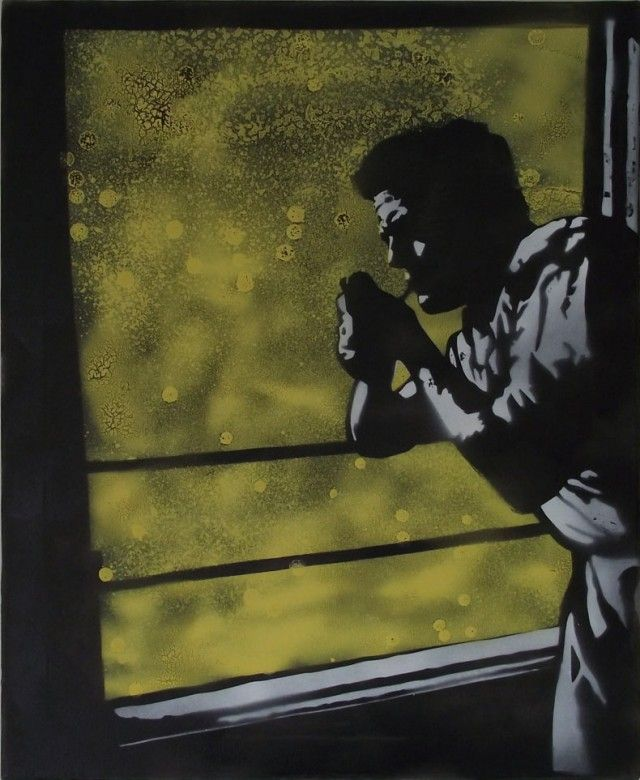 "Graffiti Stencil Art for Sale – Mr Pilgrim #graffiti #art #urbanart #streetart #…   – FAIL – NOT Glamorous, NOT Handsome, NOT ""Smoking"" !"