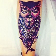 Fotos de tatuagens de coruja
