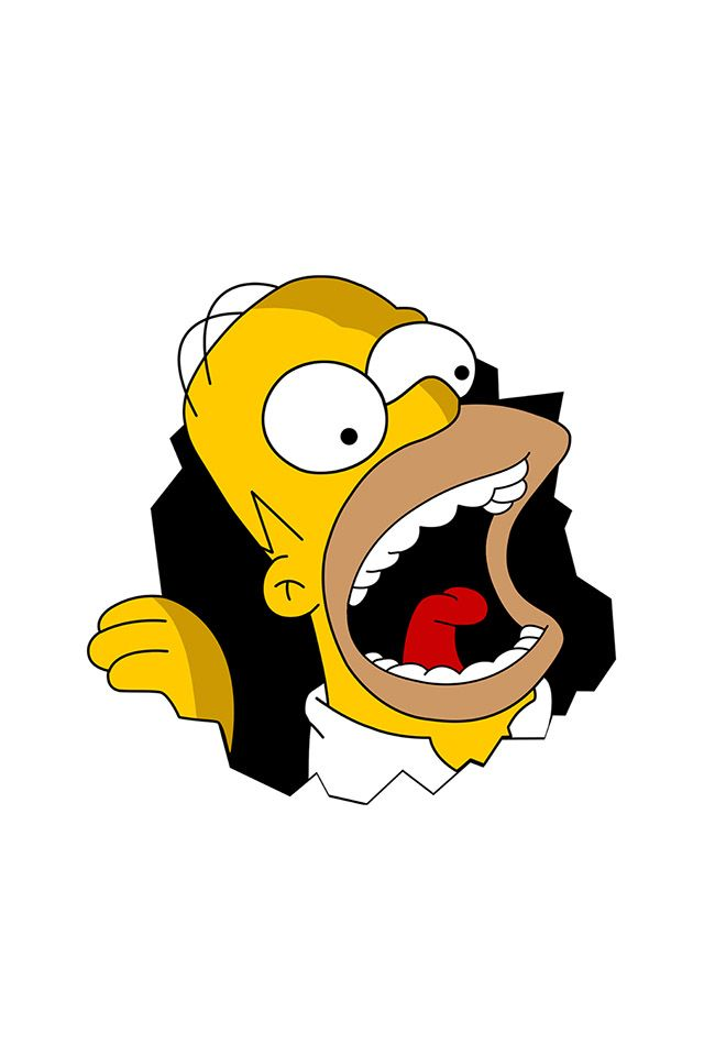 FreeiOS7 | homer-simpson-ahhhhh | freeios7.com