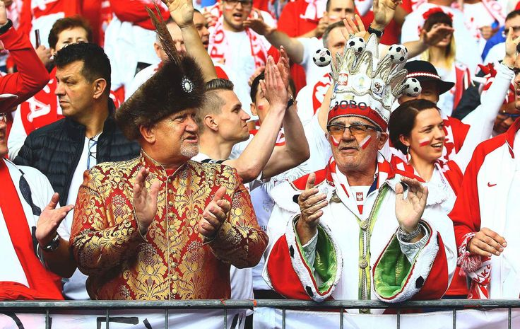 Editorial use only. No merchandising. For Football images FA and Premier League restrictions apply inc. no internet/mobile usage without FAPL license - for details contact Football Dataco Mandatory Credit: Photo by Kieran McManus/BPI/REX/Shutterstock (5733789p) Poland fans in fancy dress during the UEFA Euro 2016 Group C match played between Germany and Poland at Stade de France, Paris, France on June 16th 2016 Football - UEFA European Championships 2016 Group Stage Group C Germany v Poland…