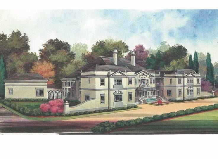 Eplans georgian house plan reminiscent of a newport for Www eplans com house plans