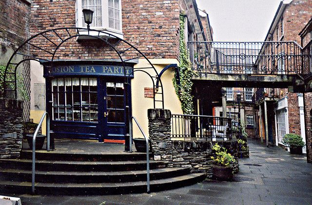 The 'Boston Tea Party' Tea Room, Derry, Ireland