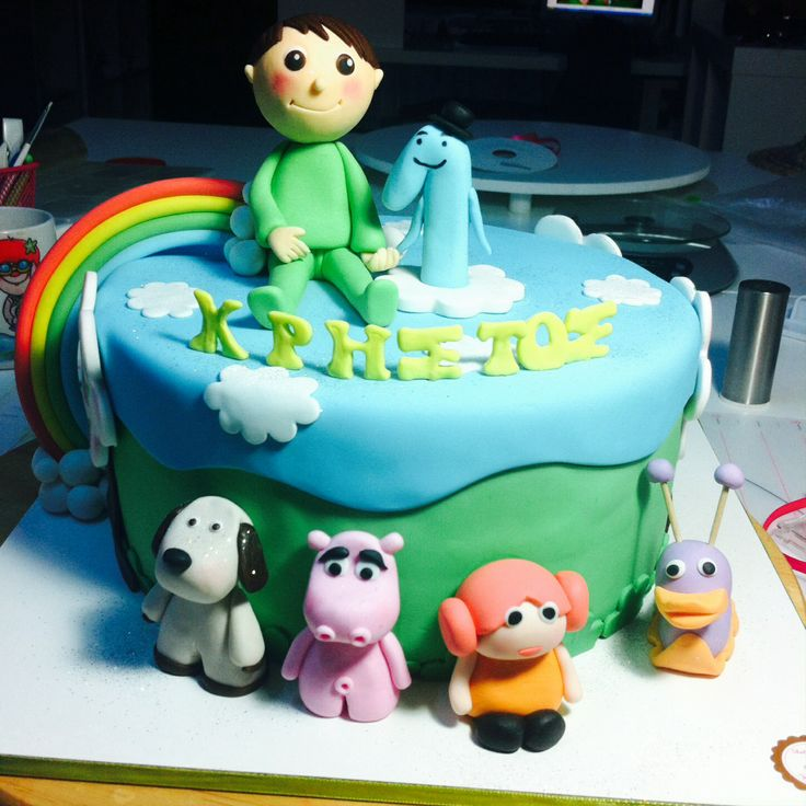 Art Cake Kuwait Number : 191 best images about BABY TV CAKES on Pinterest