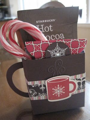 box cup (Check under gift ideas and be sure to check out the Mrs Santa gift box and the Christmas book box)