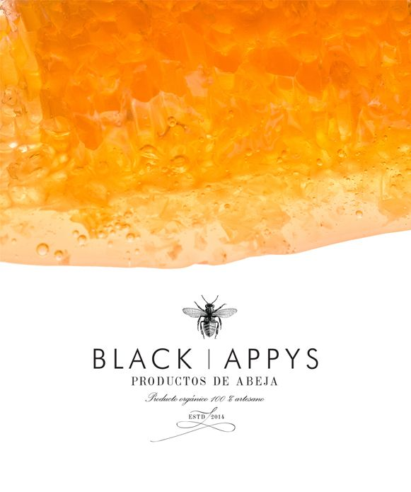 Proyecto de identidad para una marca emergente de productos derivados de la abaja, que incluyen miel, propoleo, jalea, cosméticos y jabones de tocador.