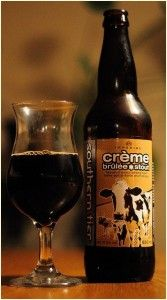 "2/9/15 ""This sets the standards of dark beers! Two employees mentioned how good this was upon check out"" #SouthernTierCremeBrulee #Stout #drinkBEER (P.S. Booby Luge!!)"
