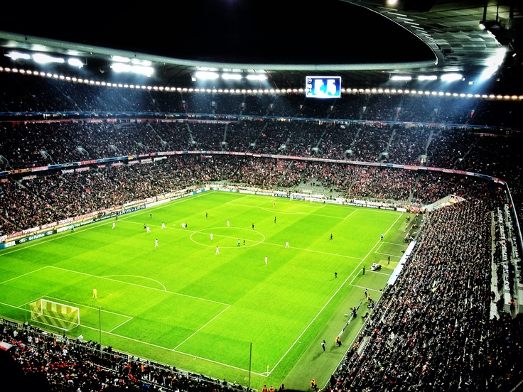364 million Euro Bayern Munich Allianz Arena.  The acoustics in the stadium were astounding.