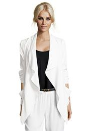 Boutique Diane Drop Front Waterfall Jacket