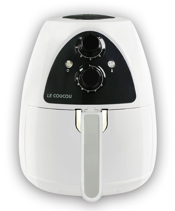Le Coucou Harmony01W Airfryer Harmony I Low Fat Healthy Non Stick convenient No Oil-Smoke White Rapid Air Fryer