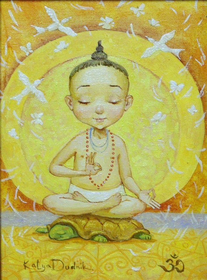 Будда картинки для детей