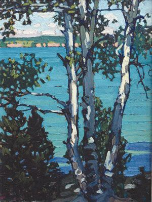 "Lawren Harris - ""Lake Simcoe"", 1918. Group of Seven"
