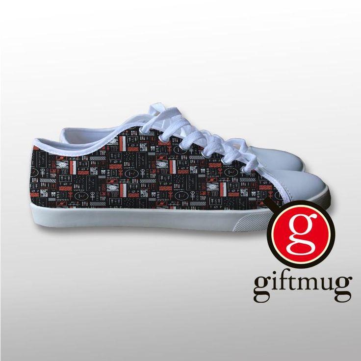Twenty One Pilots 2 Canvas Shoes #shoes #21pilots #twenty #one #pilots #gift #cover #logo