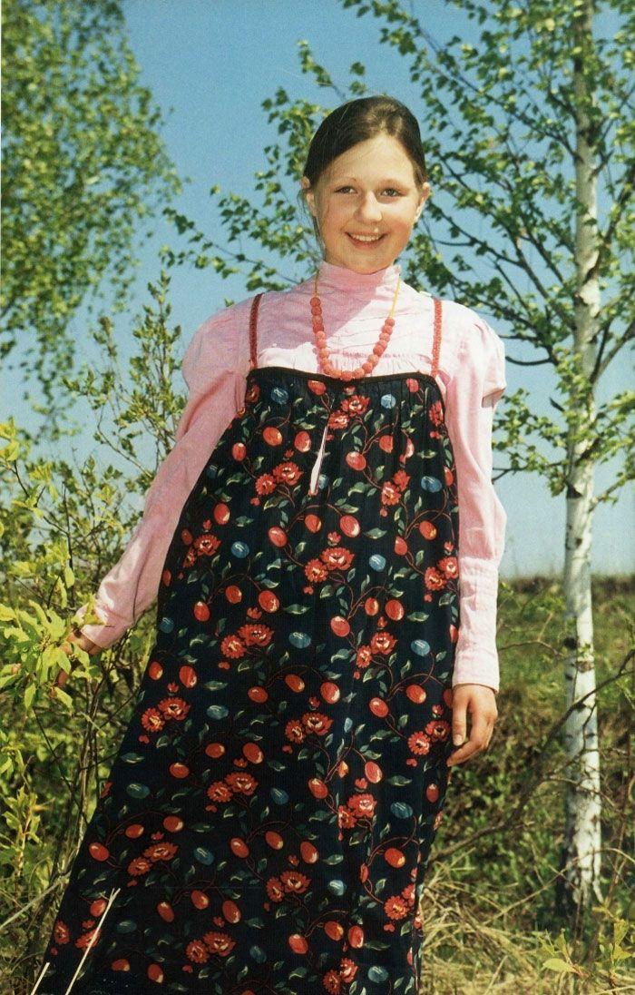 Деревенские сарафаны фото