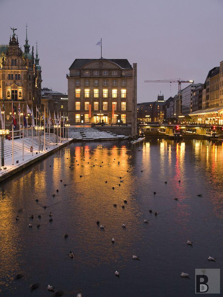 Hamburg Kleine Alster im Winter